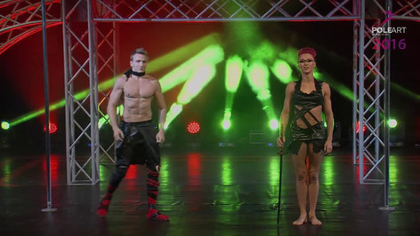 PINK PUMA / DIMITRY POLITOV - Winners of the Duets Category