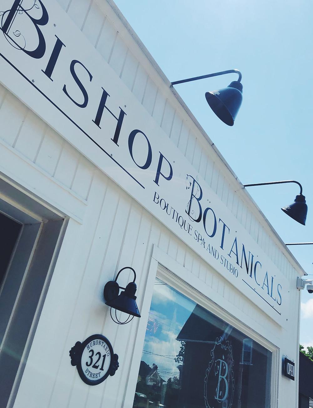 Storefront at Bishop Botanicals in Collingwood