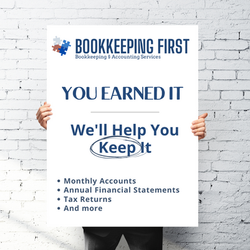 Bookkeeping First Social Media