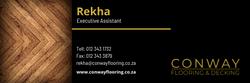 Conway Flooring Email Signature