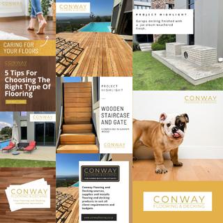 Conway Flooring Social Media Marketing C