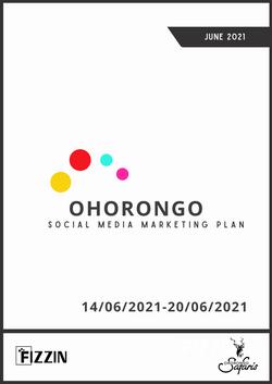 Ohorongo Social Media Marketing