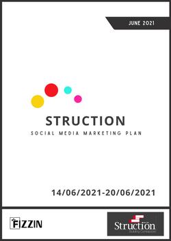 Struction Social Media Marketing Proposal