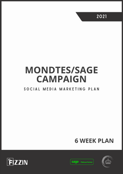 Mondtes and Sage Social Media Campaign