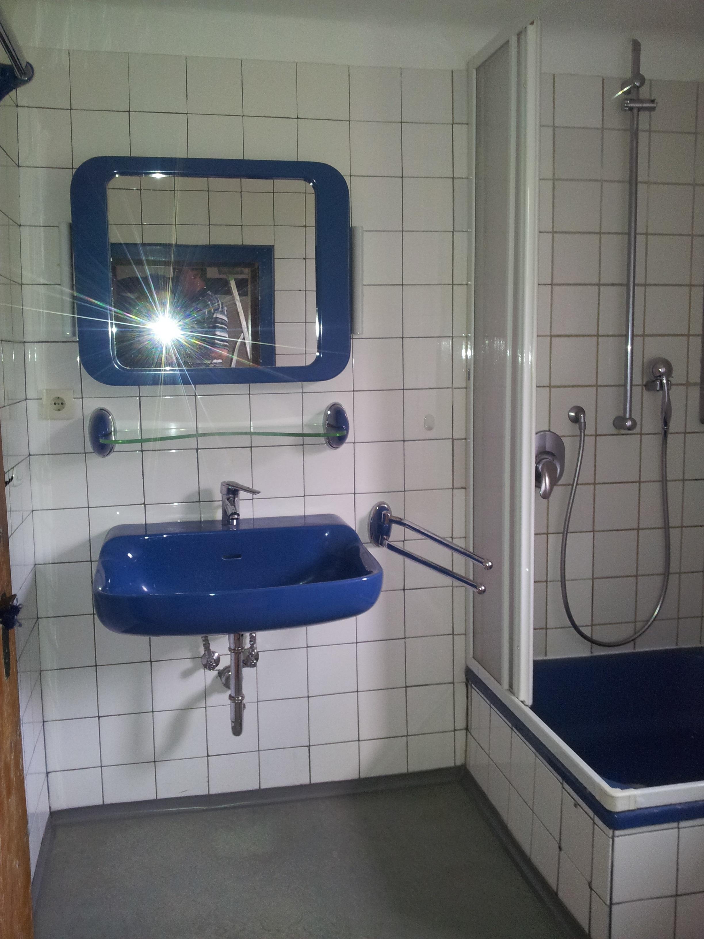 Duschbad vorher