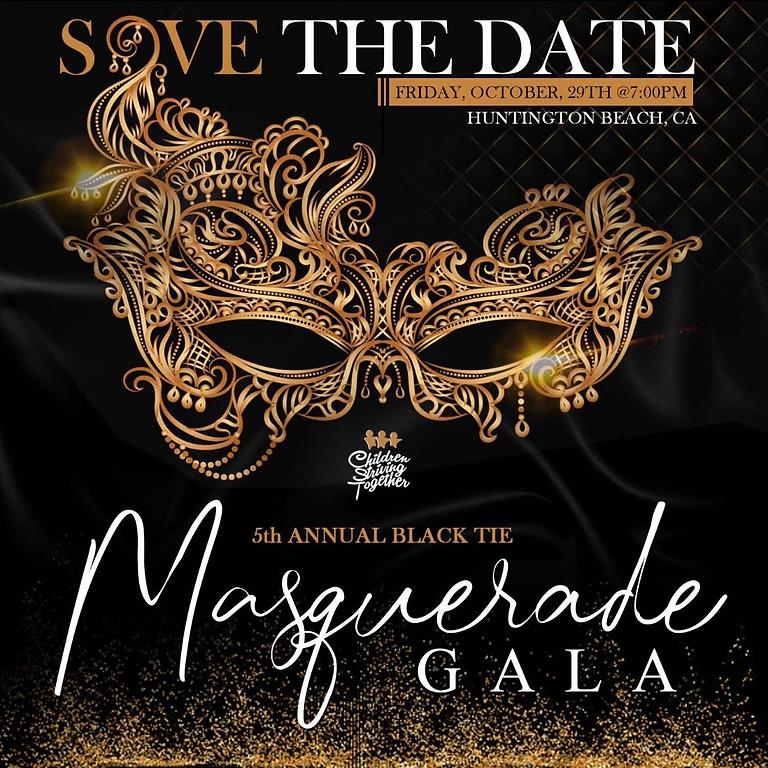 5th Annual Black Tie Masquerade Gala