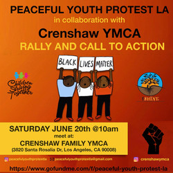 Peaceful Youth Protest LA