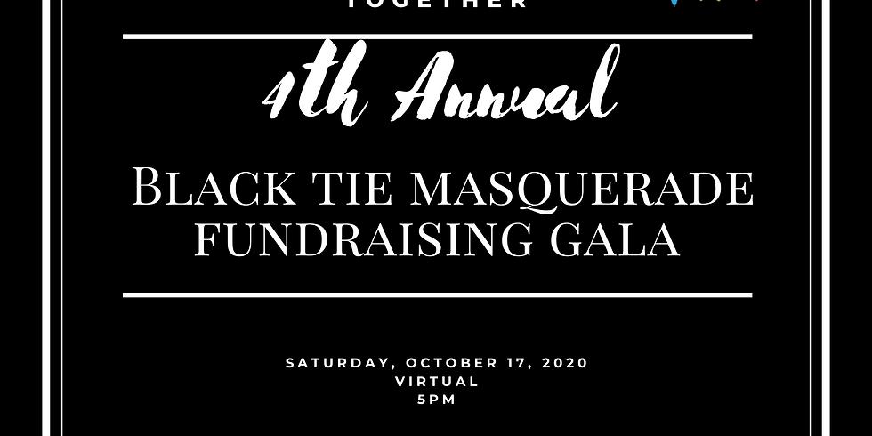4th Annual Black Tie Masquerade Virtual Fundraising Gala