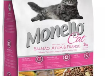 Monello Cat Salmon, Atún y Pollo Adulto