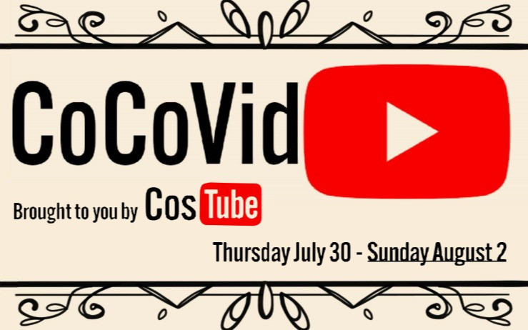 #CoCoVid logo with YouTube logo