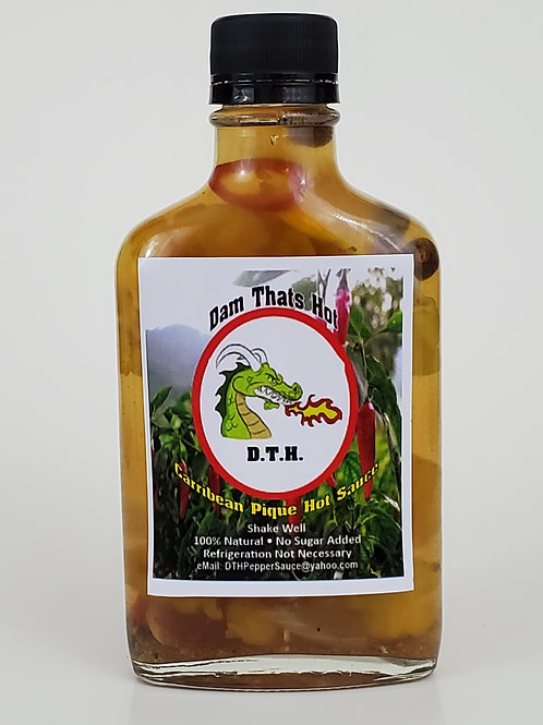 D.T.H. - Caribbean Style Pique Hot Sauce aka Jamaican Escovitch Sauce
