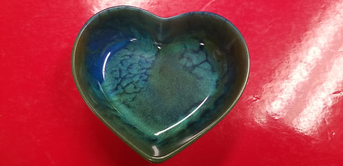 Heart shaped drill trash dish