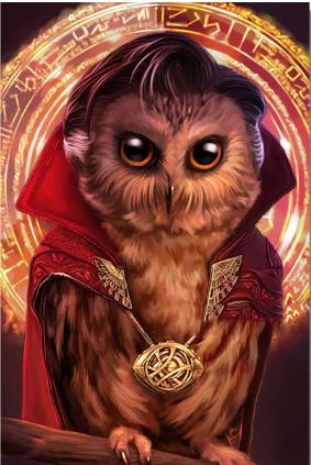 Strange Owl