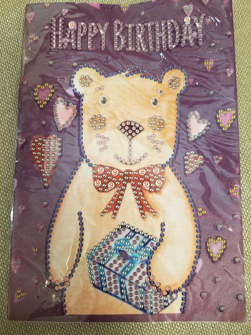 Birthday Bear Notebook