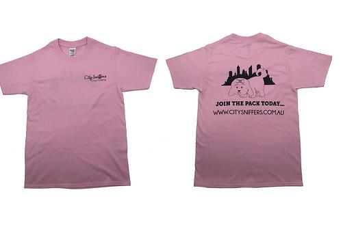 Pastel Pink T Shirt