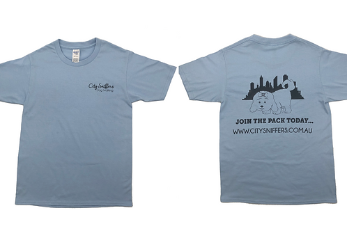 Pastel Blue T Shirt