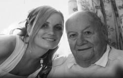 Ursulina (Gran-daughter) and Jean Claude Damiens
