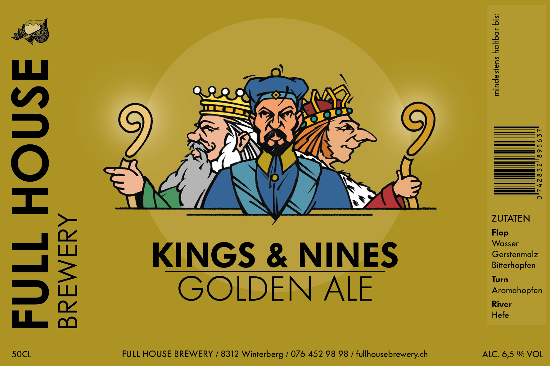 Kings & Nines Golden Ale