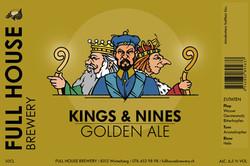 Kings & Nines Golden Ale