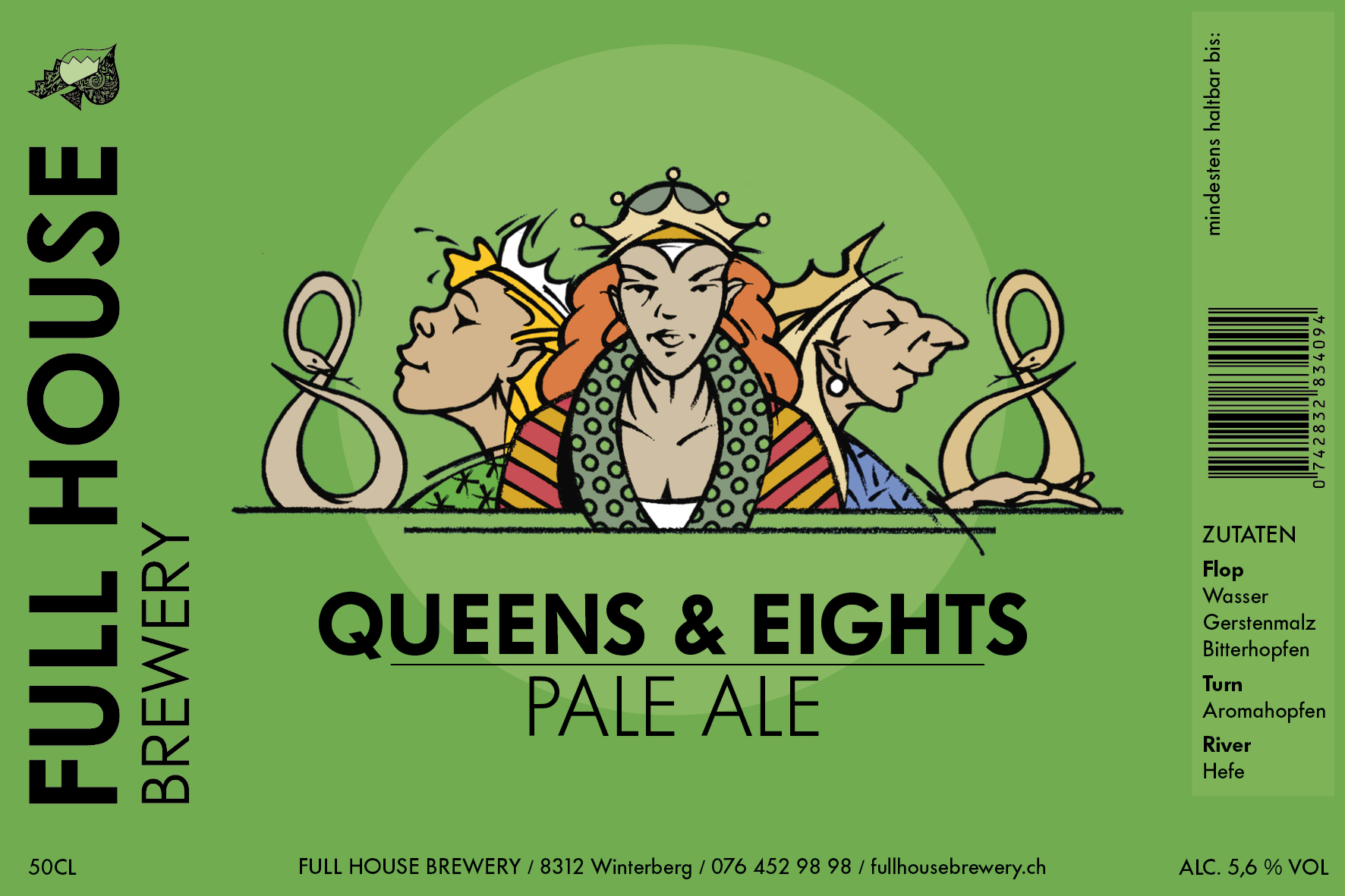Queens & Eights Pale Ale