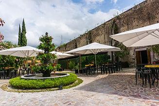 Hacienda la Solariega Patio Huizache.JPG