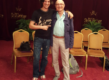 """""""Whole Intelligence"""" - workshop lead by Dr. Malcolm Parlett, Macedonia , June 2017"""