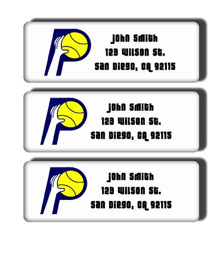 Indiana Pacers Throwback Labels