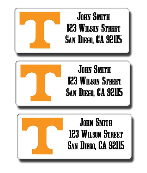 University of Tennessee Labels