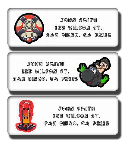 Super Mario Brothers BDSM Labels