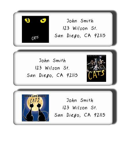 Cats Labels