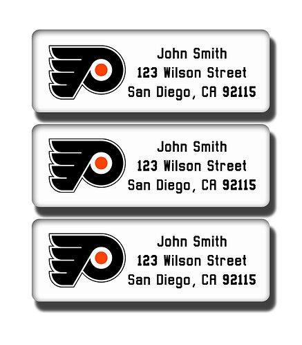 Philadelphia Flyers Labels