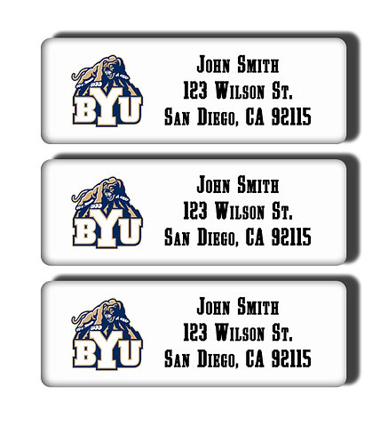 Brigham Young University Labels