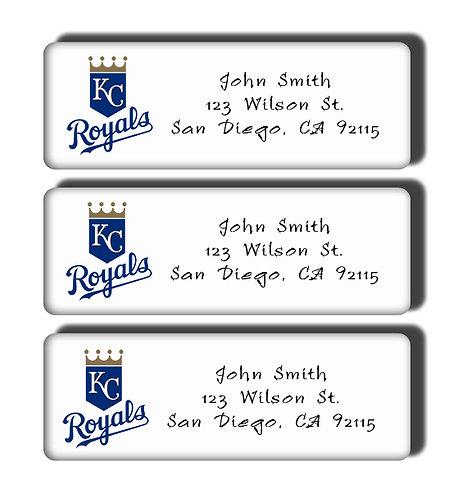 Kansas City Royals Labels