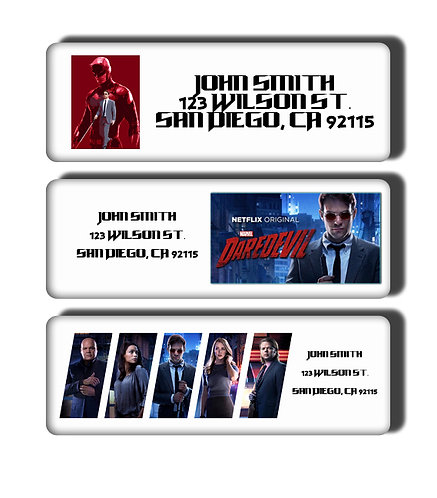 Daredevil Labels