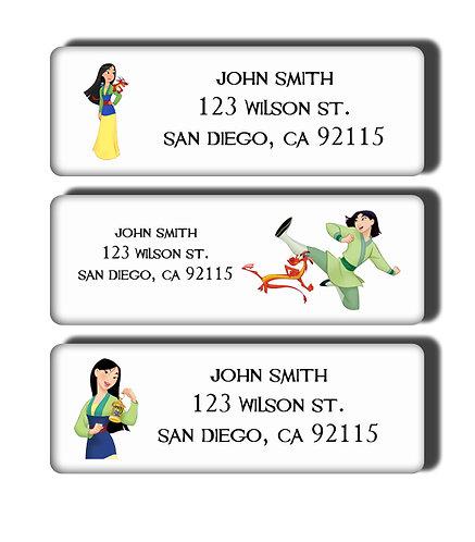Mulan Labels