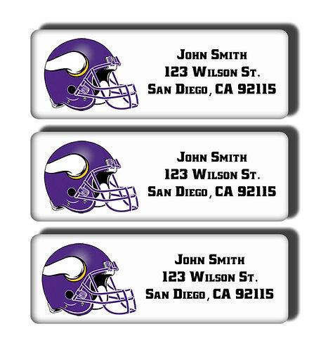 Minnesota Vikings Labels