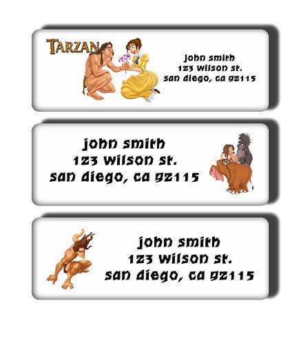 Tarzan Labels