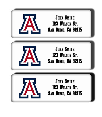 University of Arizona Labels