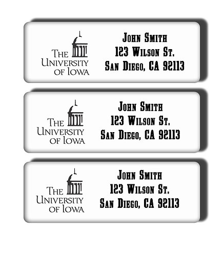 University of Iowa Labels