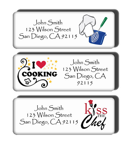 Cooking Labels