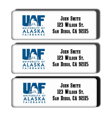 University of Alaska Fairbanks Labels