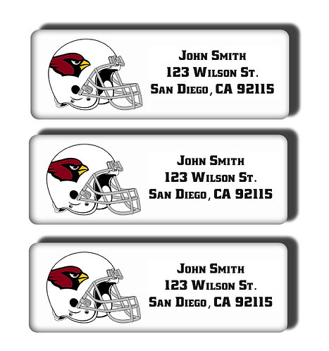 Arizona Cardinals Labels