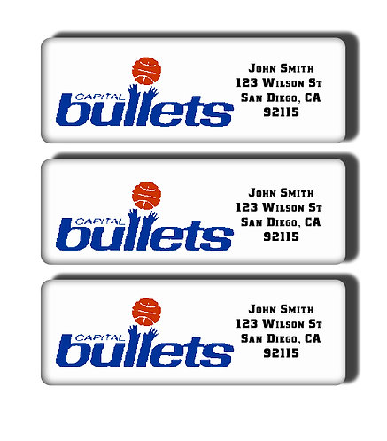 Capital Bullets Labels