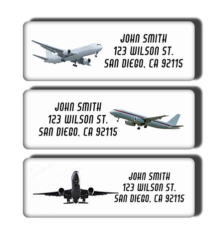 Airplanes Labels