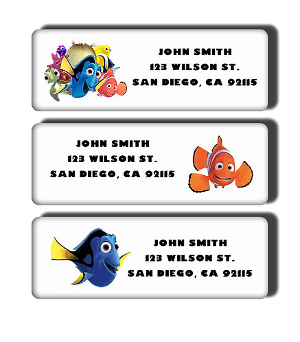 Finding Nemo Labels