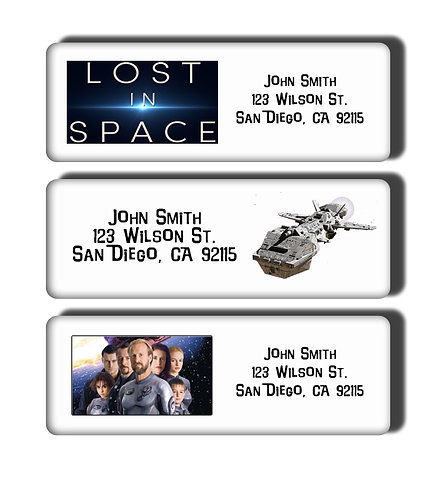 Lost in Space Labels