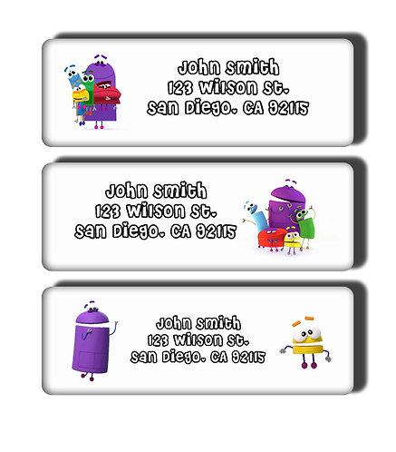 Ask the Storybots Labels