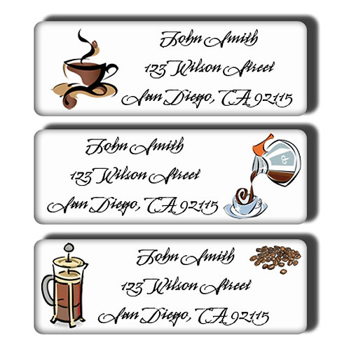 Coffee Lover's Labels