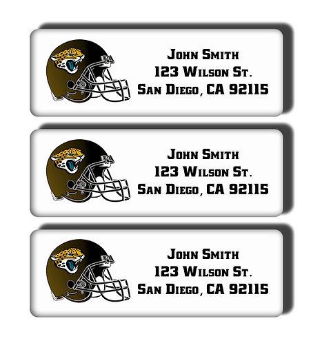 Jacksonville Jaguars Labels
