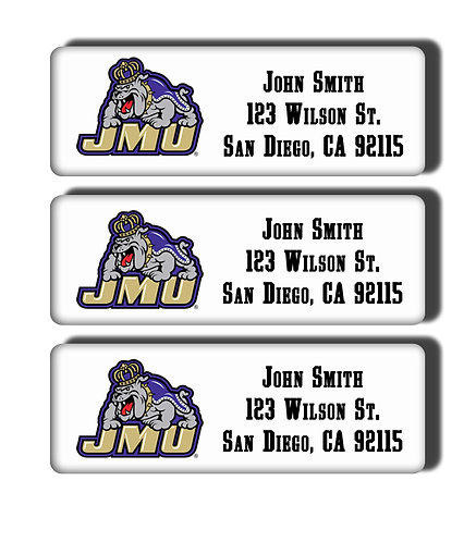 James Madison University Labels